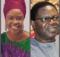 Nigerian Gospel Singer Sola Allyson Visits Veteran singer Ebenezer Obey