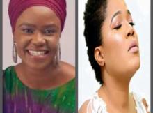 Gospel Singer, Shola Allyson Added Toyin Abraham To Her Back Up Singers
